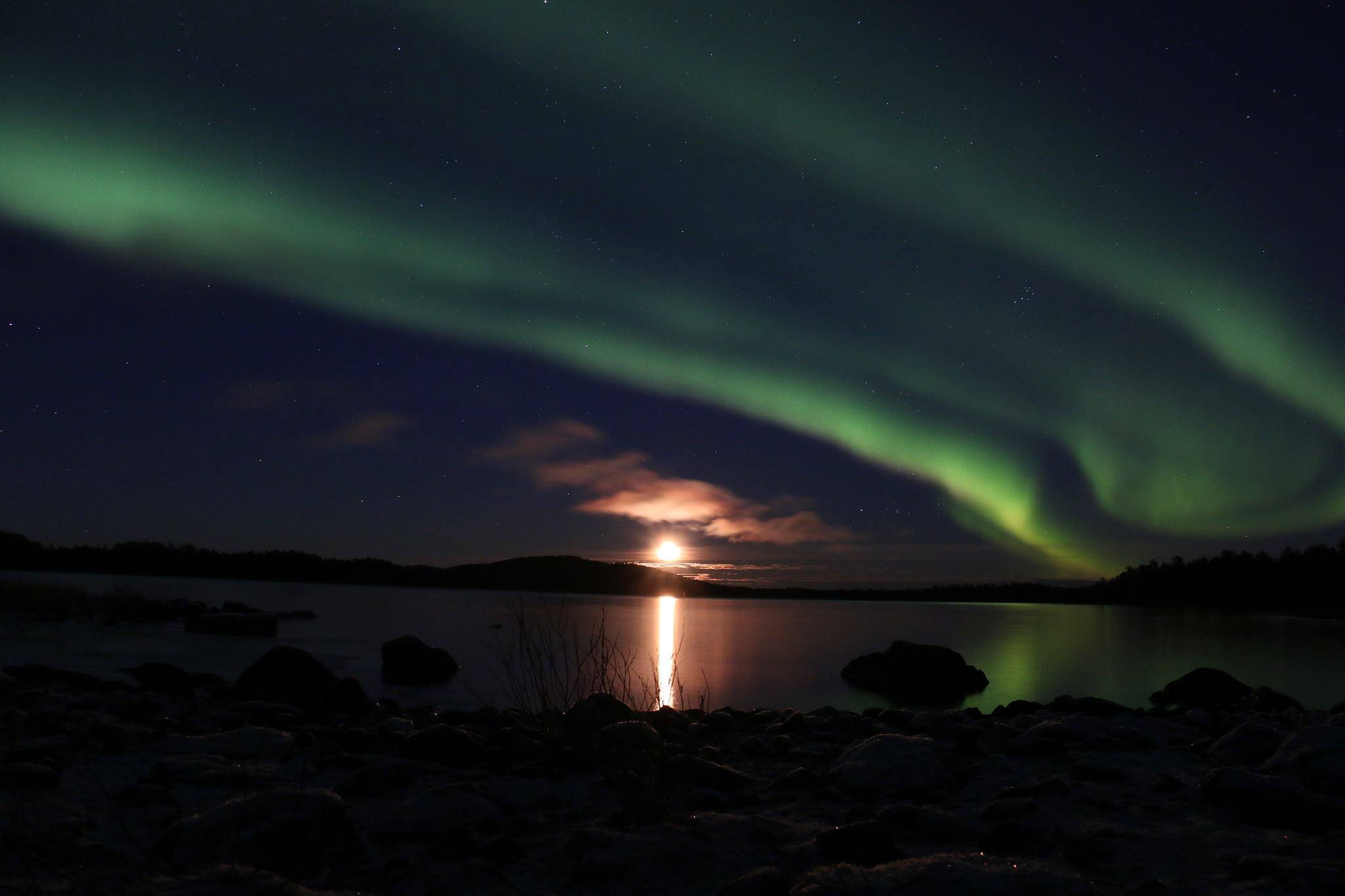 Nordic Lights in the Finnish Lapland
