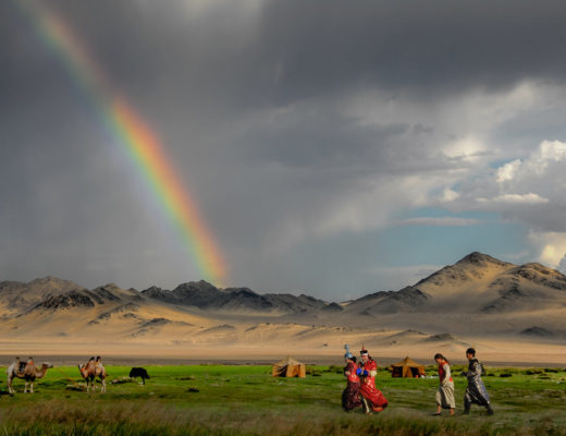 Rainbow in Mongolia. © 2008 Bernd Thaller CC BY-NC-ND 2.0