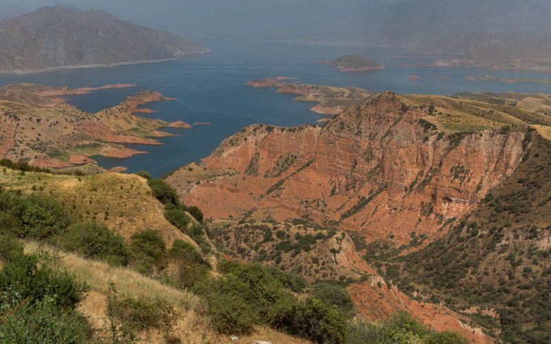 Nurek Lake, Tajikistan